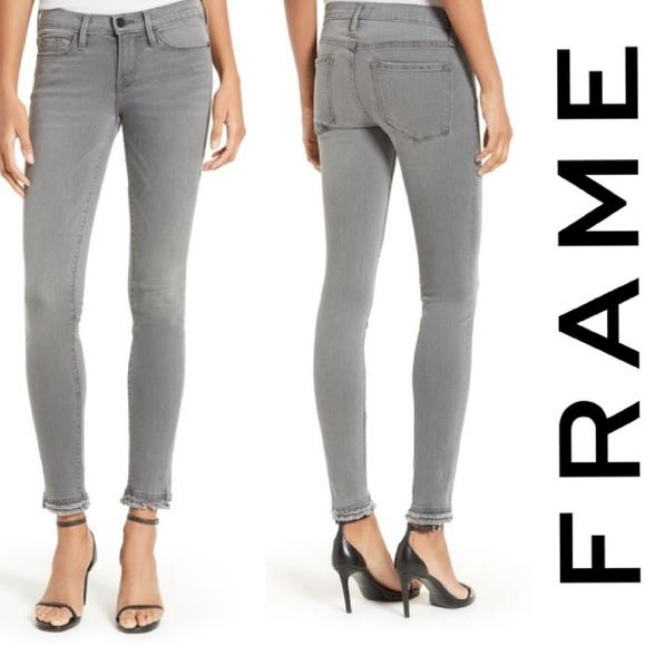 Frame Denim Denim - Frame denim le skinny de jean double hem sz 6 new